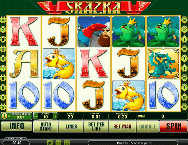 Играть в автомат Skazka / Сказка