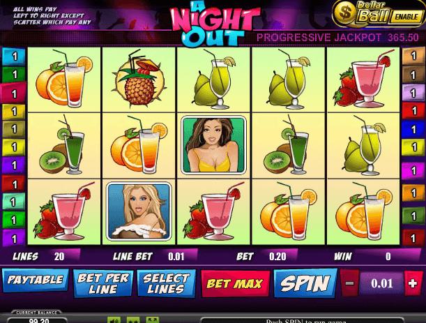 Играть в автомат A Night Out / Ночная жизнь