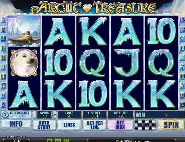 Играть в автомат Arctic Treasure / Сокровища Арктики
