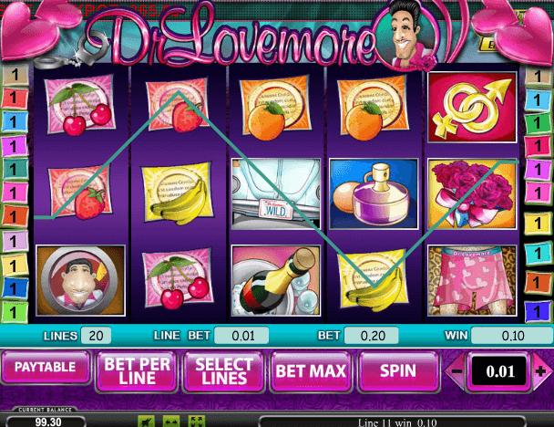 Играть в автомат Dr Lovemore / доктор Ловермор