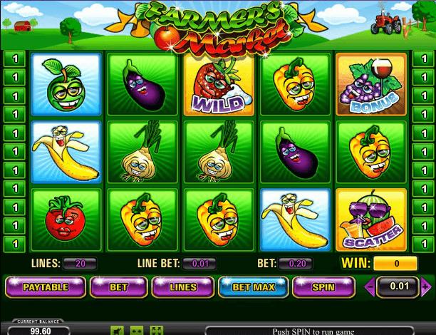 Играть в автомат Farmers Market / Фермерский рынок