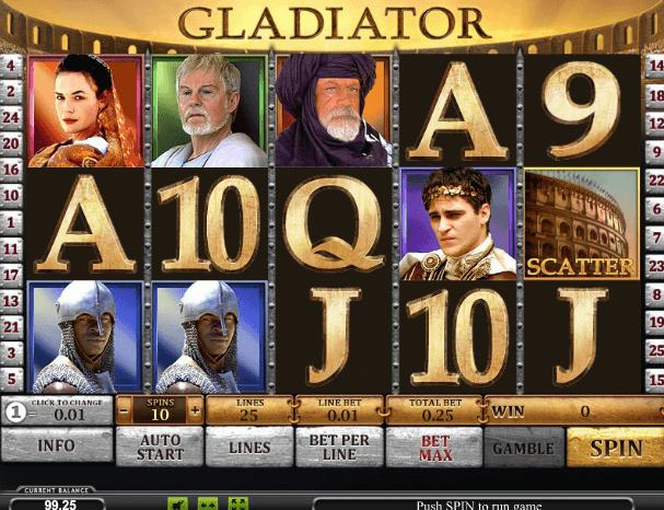 Играть в автомат Gladiator / Гладиатор