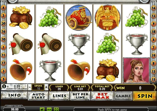 Играть в автомат Rome and Glory / Рим и Слава