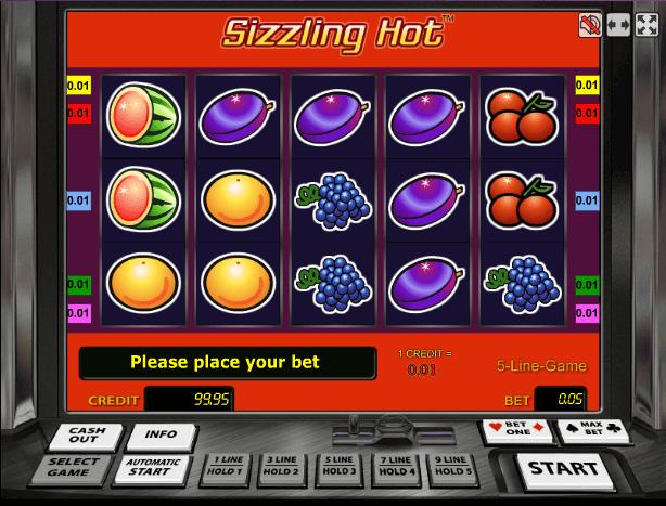 Играть в автомат Sizzling Hot Deluxe / Сизлинг Хот Делюкс