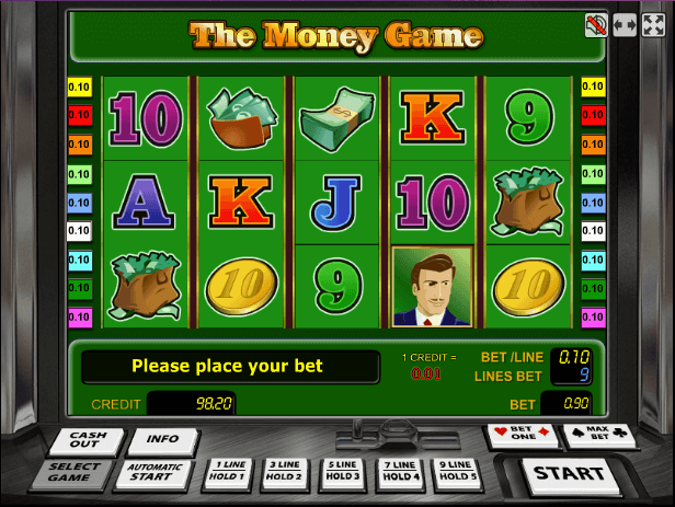 Играть в автомат The Money Game / Баксы