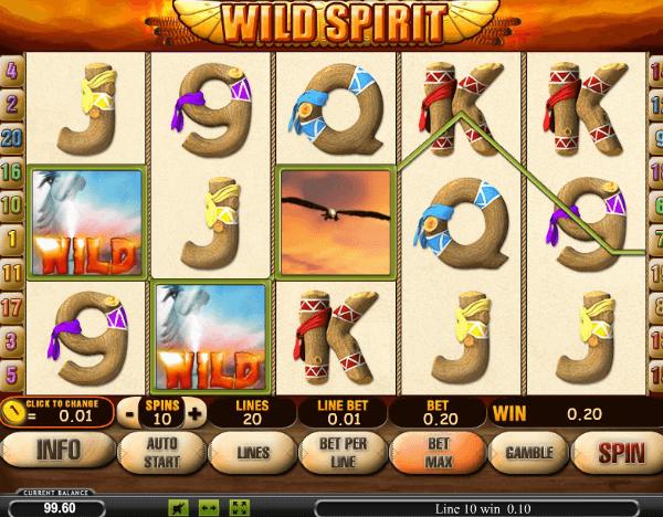 Играть в автомат Wild Spirit / Дух прерий