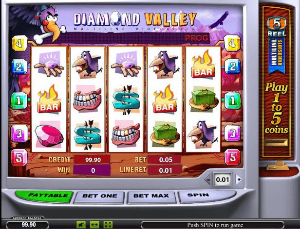 Играть в автомат Diamond Valley / Бриллиантовая долина