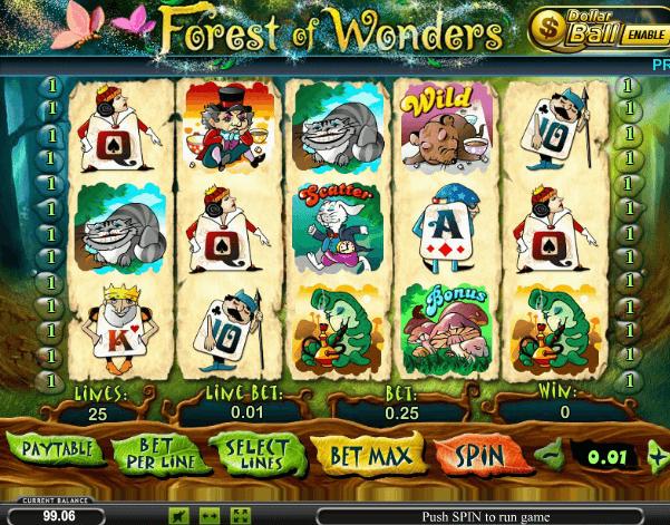 Играть в автомат Forest of Wonders / Лес Чудес