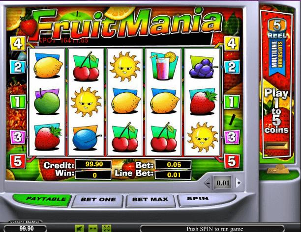 Играть в автомат Fruit Mania / Фрут Мания
