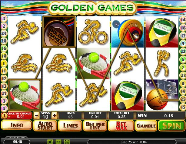 Играть в автомат Golden Games / Золотые игры