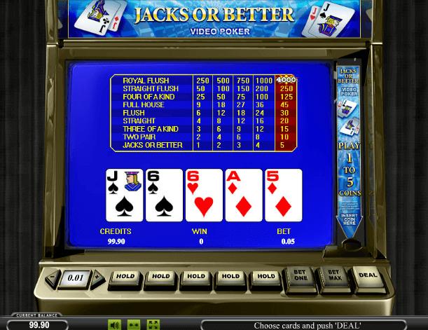 Играть в автомат Jacks or Better 50 / Вальты 50 линий