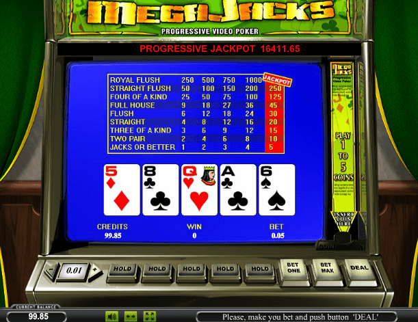 играть видео покер