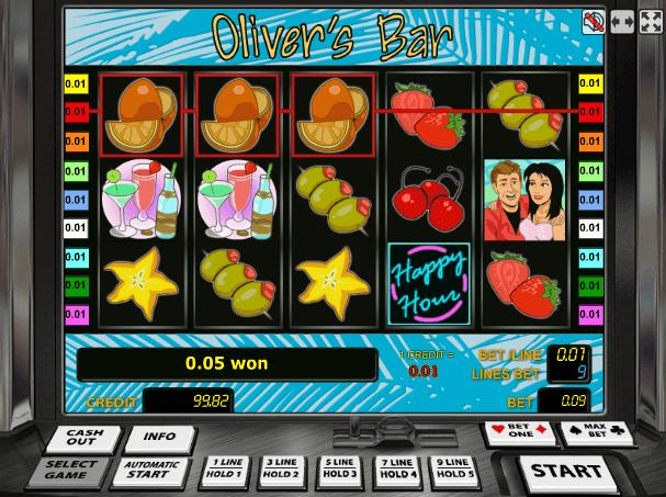 Играть в автомат Olivers Bar / Бар Оливера