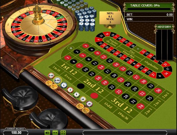 Играть в автомат Roulette Pro / Рулетка про