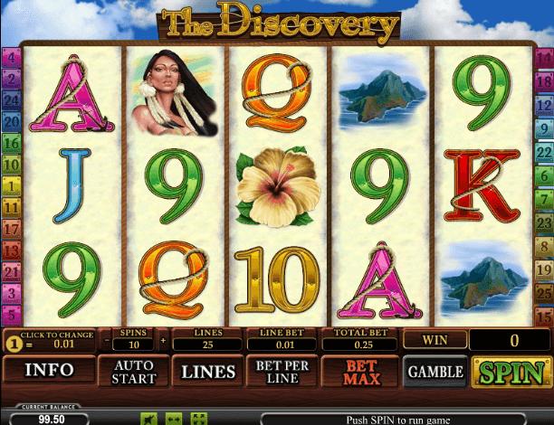 Играть в автомат The Discovery / Путешествие