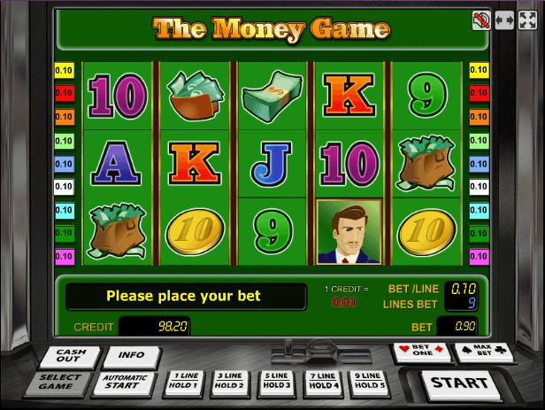 Играть в автомат The Money Game / Баксы