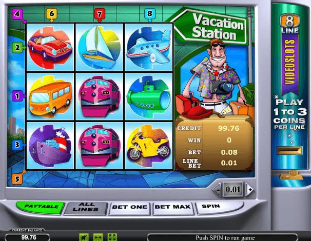 Играть в автомат Vacation Station / Станция отдыха